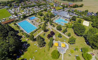 Luftaufnahme Freibad Perschen