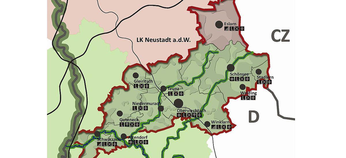 Regionalentwicklung Brückenland Bayern-Böhmen